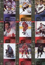 2001-02 Upper Deck Ice Complete 42 Card Base Set  Lemieux Roy Jagr Hull Hasek +