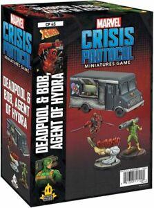 Marvel Crisis Protocol Deadpool&Bob, Agent of Hydra - Preorder
