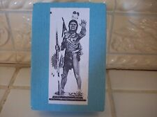 """Series 77 Miniatures """"The Americans"""" A/39 Young Eagle Plains Indian 1870-1880"""