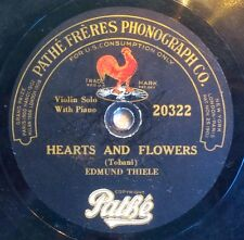 Edmund Thiele - Hearts And Flowers / Will You Remember (Sweetheart) - Pathe