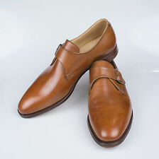 New. EDWARD GREEN for RALPH LAUREN PURPLE LABEL Roundwood Brown Shoes 10 $895