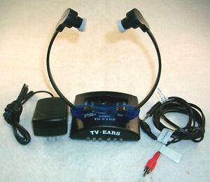 TV EARS 2.3 MHz WIRELESS HEADSET SYSTEM COMPLETE