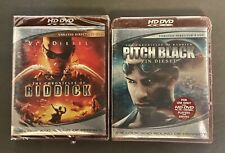 Hd Dvd Vin Diesel Pitch Black & The Chronicles of Riddick New Sealed Oop