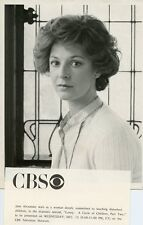 JANE ALEXANDER PRETTY PORTRAIT LOVEY A CIRCLE OF CHILDREN ORIG 1978 CBS TV PHOTO