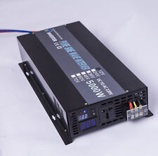 12V/24V/36V/48V DC to 240V AC 50HZ 5000W Off Grid Pure Sine Wave Power Inverter