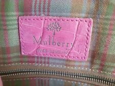 Mulberry Pink Leather Backpack style Handbag