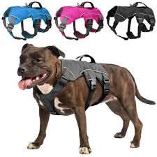 No Escape Dog Harness Mesh Safety Sport Dog Hiking Running Chest Vest & Handle