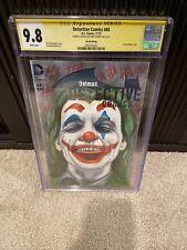 Joker Joaquin Phoenix sketch By Chris Thorne CGC 9.8 Detective Comics 44
