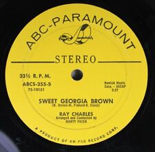Soul 45 Ray Charles - Sweet Georgia Brown / Diane On Abc-Paramount