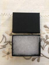 Black Cardboard Jewellery Gift Box (Cushioned) - Small