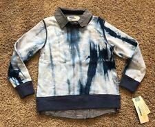 NWT Boys Blue Long Sleeve 2Fer Top 5T