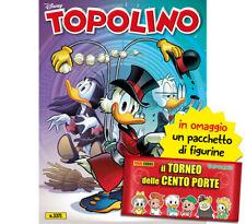 Topolino N° 3371 - Con Figurine Album Il Torneo Delle 100 Porte - Disney Panini