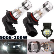 HB4 9006 LED High Power COB 100W Super White DRL Fog Light lamp Bulbs 6000K