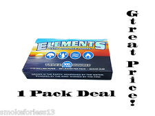Elements 300's Ultra Thin Rice Papers 1 1/4 size *300 LEAVES PER PACK* w/Trackin