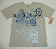 Levi's Boys Size Extra Large (20) Gray Bicycle Graphic T Shirt New With Tags