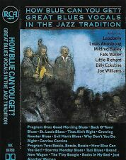 Various How Blue Can You Get? Great Blues Vocals In The Jazz Trad CASSETTE ALBUM