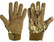 Highlander Mens Covert Polyester Suade Durable Hunting Gloves L 5034358272654 Large