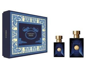 Versace Pour Homme Dylan Blue - Gift Set With 100ml EDT Spray and 30ml EDT Spray
