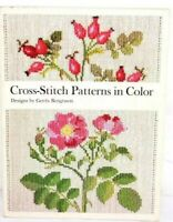 Cross Stitch Patterns in Color Book by Gerda Bengtsson Danish Handcraft Guild