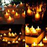 24 Pezzi Flameless Led Lumini Candele Rotonde Finto Decorazione Casa Saldi