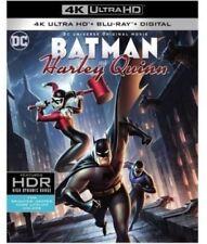 Batman and Harley Quinn, 4K Ultra HD + Blu-ray + Digital HD, W/ Cover 2-Disc Set