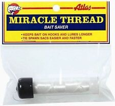 Atlas Miracle Thread with Dispenser - TWO Packs - Clear Bait Wrap Thread #66830