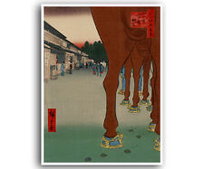"Japanese Woodblock Print Art Reproduction Home Decor Poster 12x16"" J1"