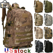 40L Military Tactical Backpack Molle Assault Outdoor Hiking Tracking Camping Bag