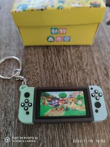 Nintendo switch mini keychain game gift video keyring Animal Crosssing
