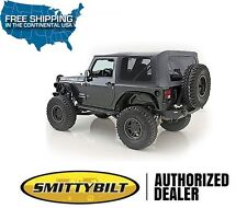 Smittybilt Replacement Soft Top 10-18 Jeep Wrangler JK 2DR 9075235 Black Diamond