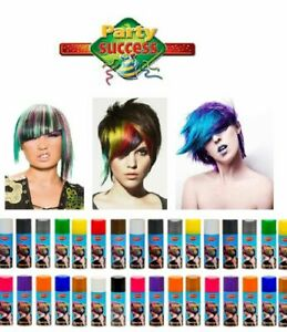 Pack OF 2 Temporary Hair Colour Spray Wash Out 125ml Assorted Colours