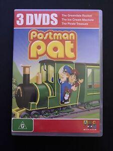Postman Pat - Greendale Rocket, Ice Cream Machine, Pirate Treasure DVD Region 4