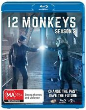 12 Monkeys : Season 2 (Blu-ray, 3-Disc Set) NEW