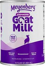 Meyenberg Evaporated Goat Milk, Vitamin D, 12 Ounce  Assorted Flavors , Sizes