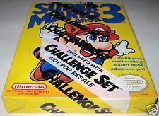 Super Mario Bros. 3 (Nintendo NES ) Challenger Set ~Brand NEW!!