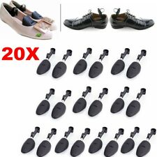 10Pair Mens Ladies Adjustable Form Plastic Shoe Tree Shaper Boot Shoes Stretcher