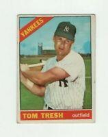 1966 Topps Tom Tresh #205 Baseball Card - New York Yankees HOF