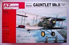 Gloster Gauntlet Mk.II 1/72 AZ Model 7525 Rare!