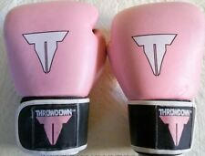 Pink Girls Boxing Gloves Throwdown Brand 16 oz
