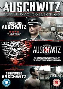 AUSCHWITZ TRIPLE DVD COLLECTION - DVD**NEW SEALED**FREE POST**