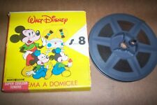 RARE FILM SUPER 8 SONORE walt disney MICKEY LES TROIS CABALLEROS