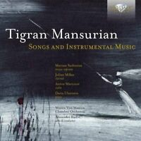 Mariam Sarkissian - Mansurian: Songs and Instrumental Music [CD]