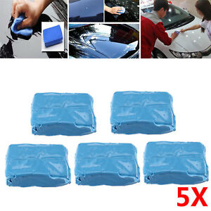 5Pcs Car Truck Vehicle Easy Cleaning Clay Bar Detailing Wash Practical Cleaner