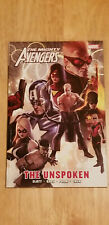 THE MIGHTY AVENGERS: THE UNSPOKEN BY SLOTT & GAGE~ MARVEL TPB NEW