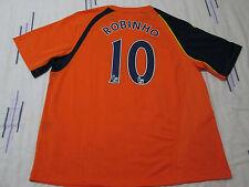 "Manchester City football shirt size 50""-52"" 10 Robinho Le Coq Sportif 2008-2009"