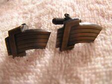 Seat Belt Shaped Vintage Cufflinks Belt Buckle