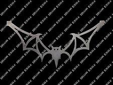 Bat Vampire Metal Art Wall Sign Gothic Creepy Halloween Rat Rod Grill USA Made