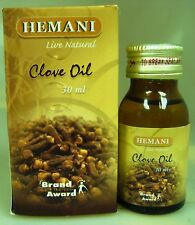 Hemani 30ml PURE & NATURAL Essential Clove Oil USA SELLER FAST SHIPPING