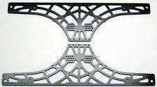 TAMIYA TXT-1 CARBON FIBER SIDE PLATES 4mm XTR1700 XTREME RACING MONSTER TRUCK