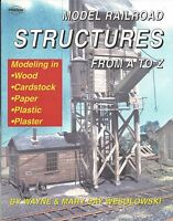 MODEL RAILROAD STRUCTURES from A to Z - (from CARSTENS - Out of Print NEW BOOK)